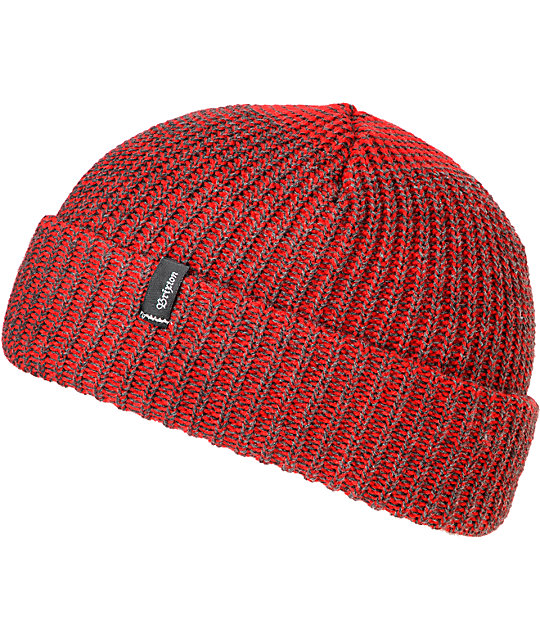 Brixton Till Heather Red Beanie