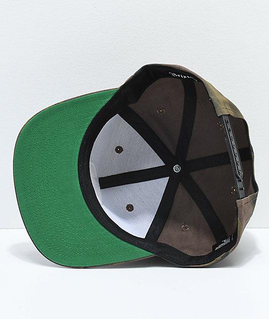 d7b586f5c5e inexpensive green brixton snapback 3ea68 22b2e