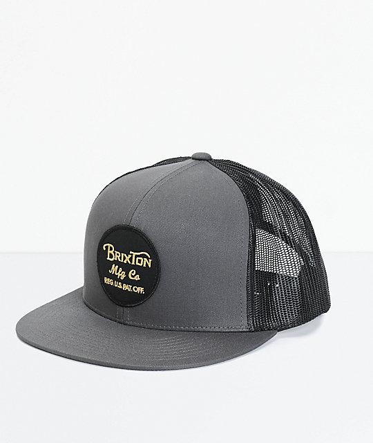 5bad3e327c949 ... discount code for brixton wheeler trucker hat 063fd 3197e
