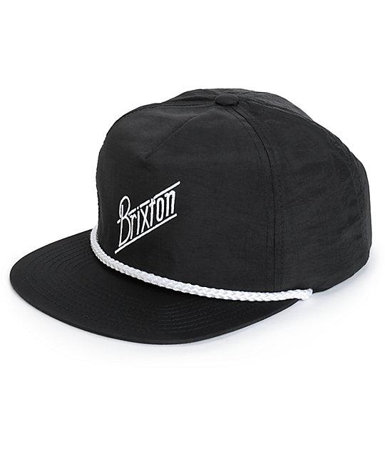 Brixton Wilson Snapback Hat  7c41ea2fcba