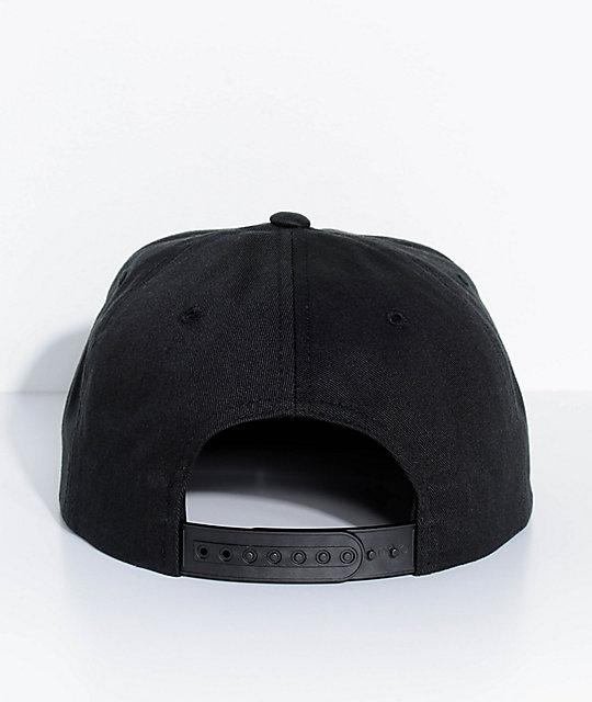 ... Brixton Yates Black Snapback Hat ... ff419863e61