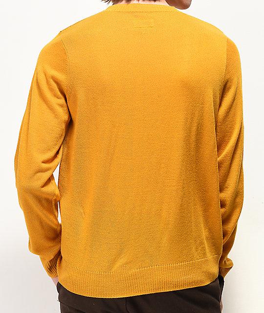 79b7a7549c Brixton x Coors Banquet Gold Sweater | Zumiez