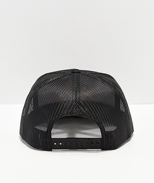 ... Brixton x Coors Golden Hills Black Mesh Snapback Hat 585dc10cdd5