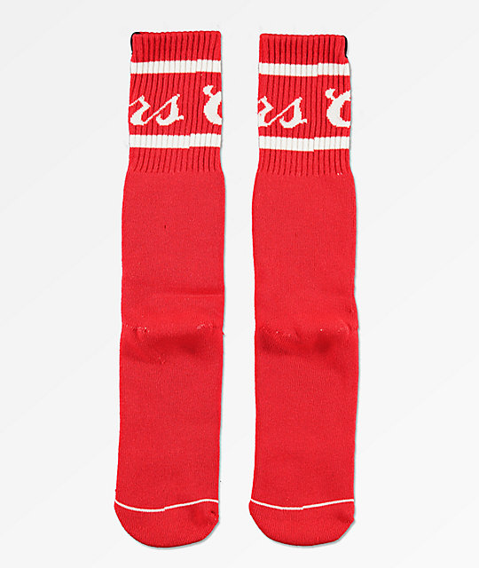 Brixton x Coors Signature Red Crew Socks