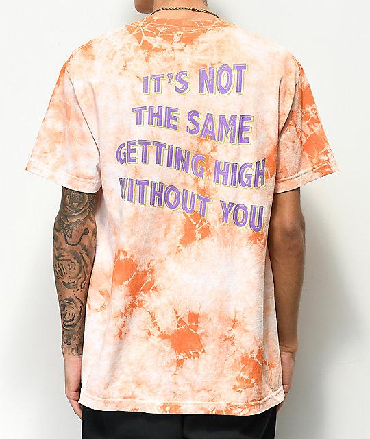 28810cceb73e Broken Promises Best Buds White   Peach Tie Dye T-Shirt
