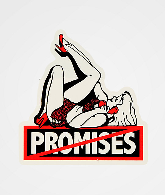 Broken Promises Cold Call Sticker