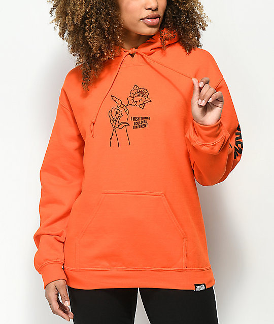 Broken Promises Could Be Different Orange Hoodie