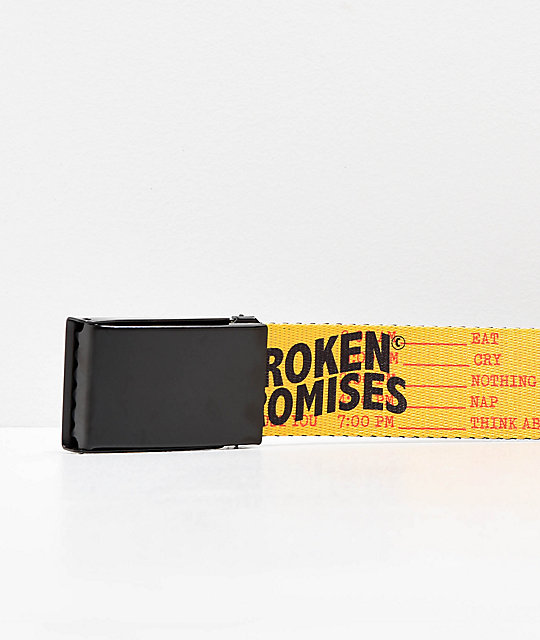Broken Promises Daily Ritual Web Belt