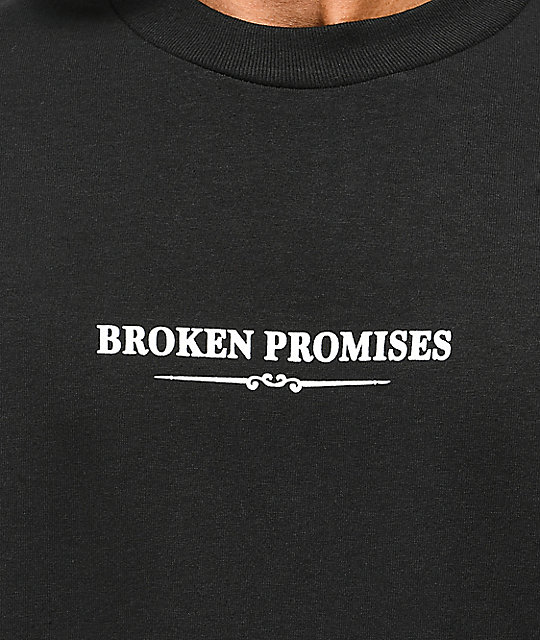 Broken Promises Field Guide Black T-Shirt