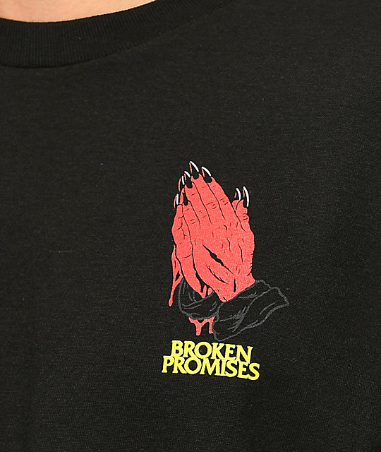 Broken Promises Good Faith camiseta negra