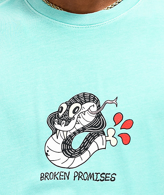 Broken Promises Severed camiseta verde