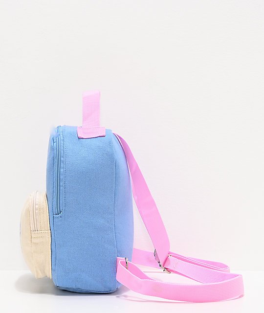 Broken Promises Sorcerer Blue & Pink Mini Backpack