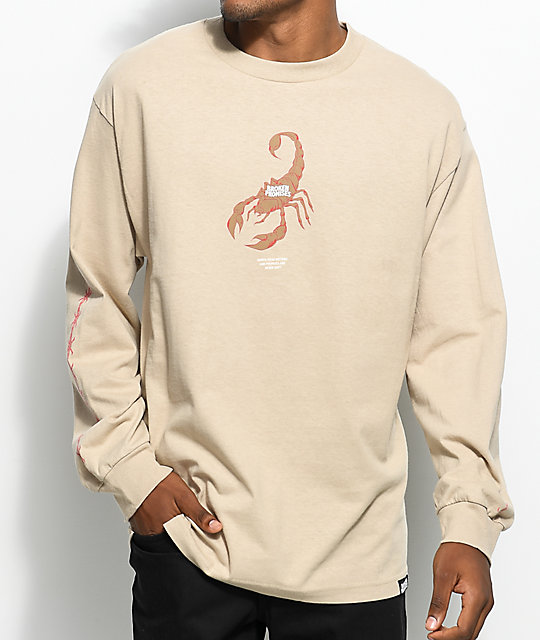 Broken Promises Stinger Sand Long Sleeve T-Shirt
