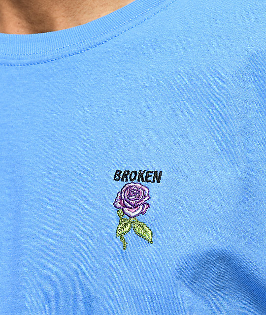 Broken Promises Thornless Blue T-Shirt