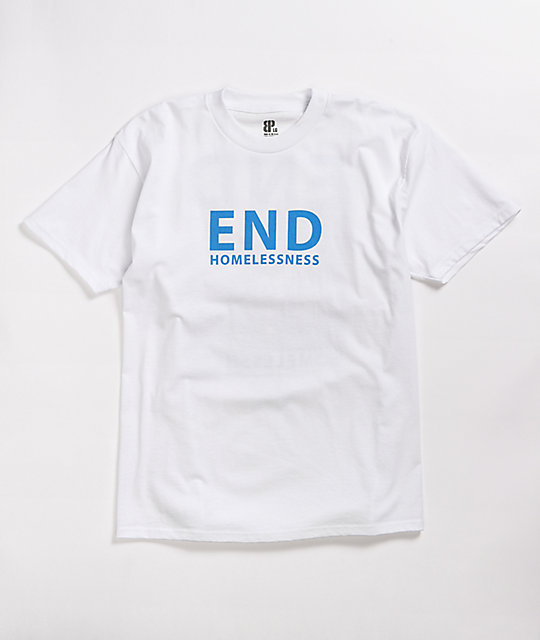 Brooklyn Projects End Homelessness White T-Shirt