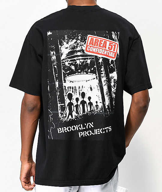 Brooklyn Projects Fifty One Black T Shirt by Brooklyn Projects