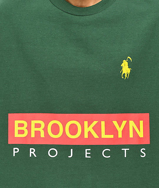 Brooklyn Projects Reaper Sport Green T-Shirt