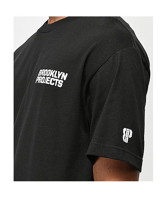 Brooklyn Projects Sneakers camiseta negra