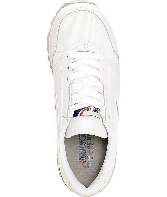7e7d8bf8b4df4 ... Brooks Chariot All White Women s Shoes ...