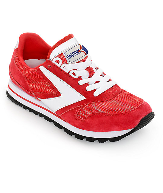 1f1c75afdb9 Brooks Chariot Red   White Womens Shoes
