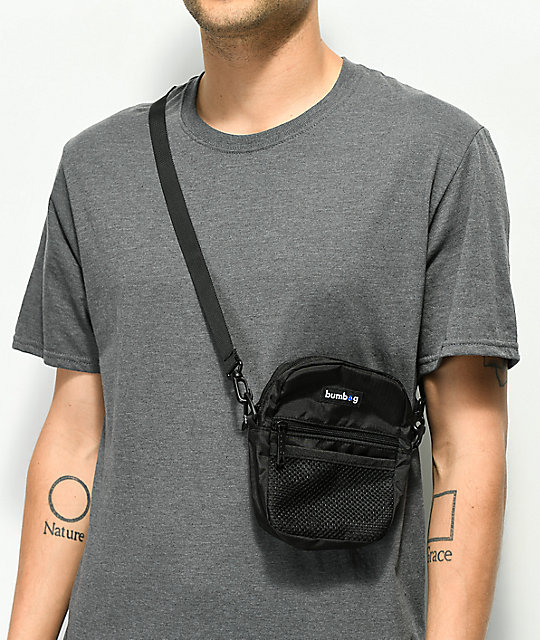 Bumbag Shaolin Black & Blue Shoulder Bag