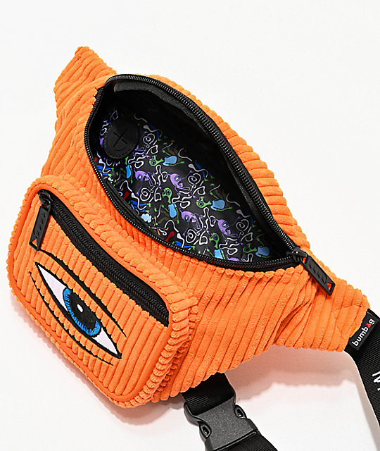 Bumbag x Toy Machine Deluxe Orange Fanny Pack