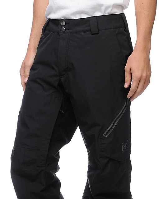 Burton AK Cyclic Black GORE-TEX 20K Snowboard Pants