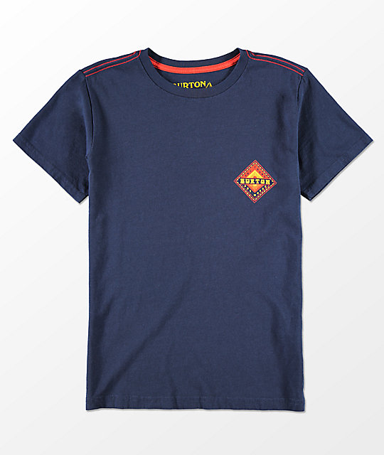 Burton Anchor Point camiseta azul marino para niños
