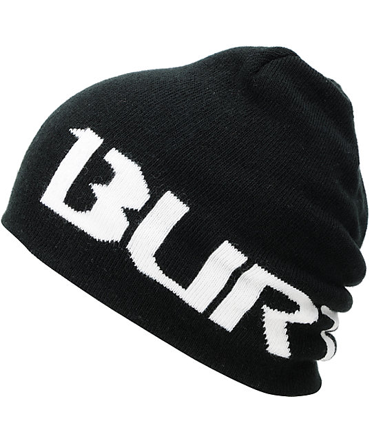 Burton Billboard Black & White Reversible Beanie