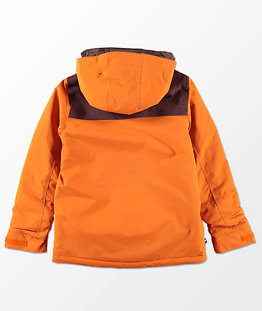 Burton Boys Dugout Sunset Chestnut 10K Snowboard Jacket