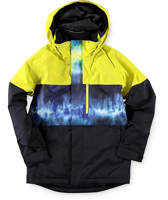 cffe3eff4888 Burton Boys Symbol Surf Stripe 10K Snowboard Jacket