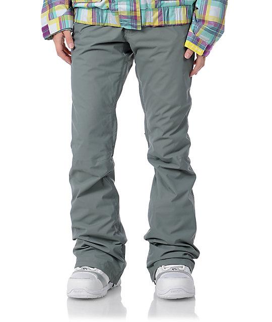 Burton Candy Pant Grey Snowboard Pants Zumiez