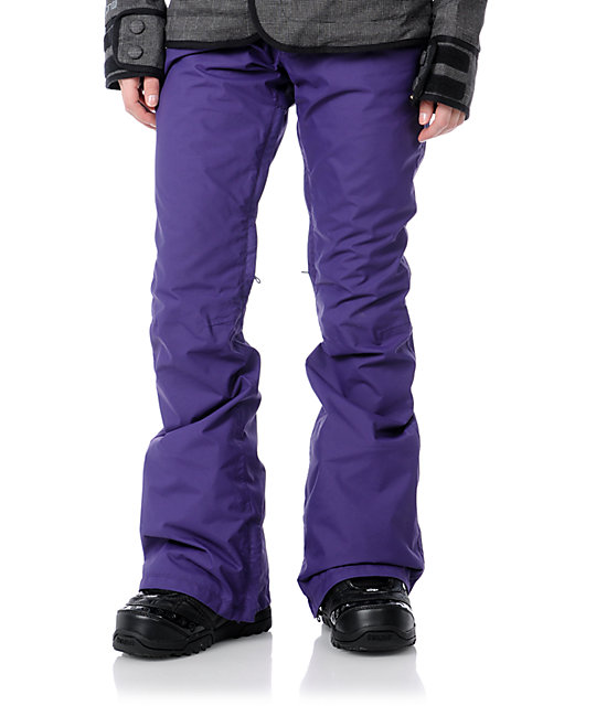 Burton Candy Purple 10K Snowboard Pants