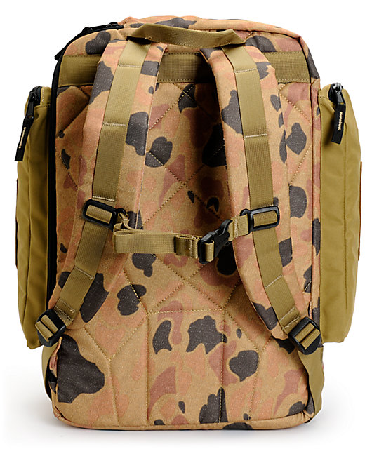 Burton Canyon Duck Camo Print Backpack