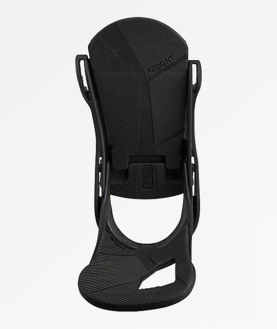 Burton Cartel Matte Black Snowboard Bindings 2019