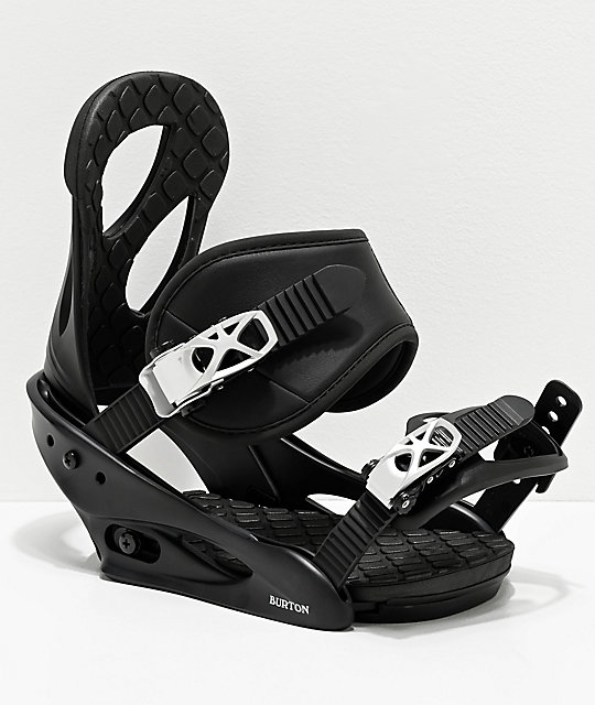 Burton Citizen Black Snowboard Bindings Women's 2020