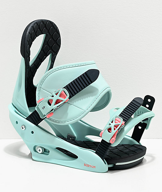 Burton Citizen Blue Snowboard Bindings Women's 2020