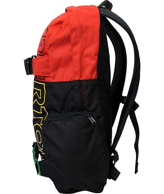 Burton Emphasis Rasta Skate Backpack