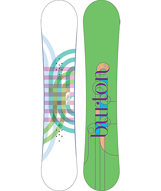Burton Feather 152cm Mid Wide Womens Snowboard