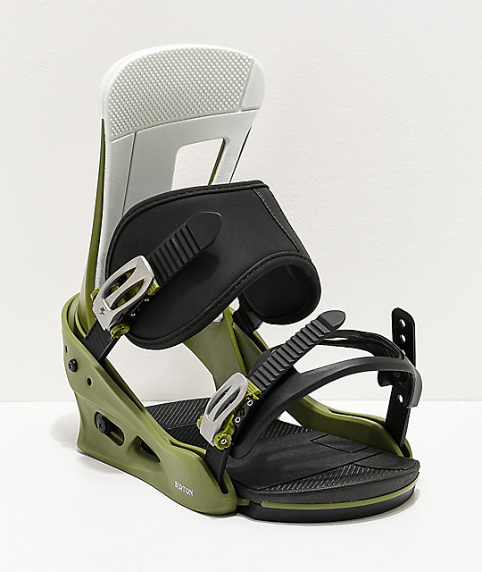 Burton Freestyle Green Snowboard Bindings 2020