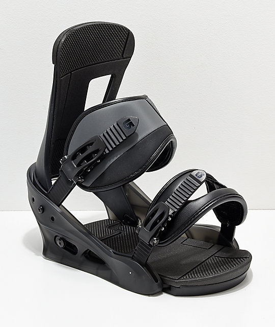 Burton Freestyle Matte Black Snowboard Bindings 2019