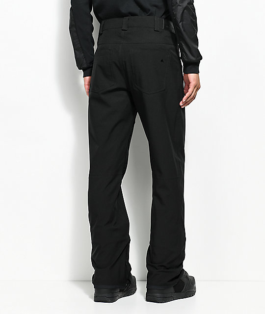 12499cb2006 ... Burton Greenlight True Black 10K Snowboard Pants ...