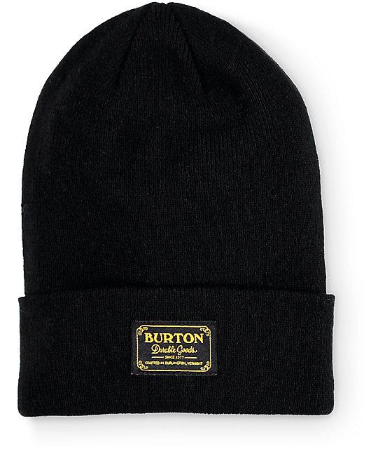0b5166713d6 Burton Kactusbunch Black Tall Beanie