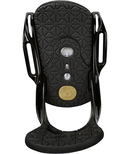 Burton Lexa EST Black & Gold Womens Snowboard Bindings