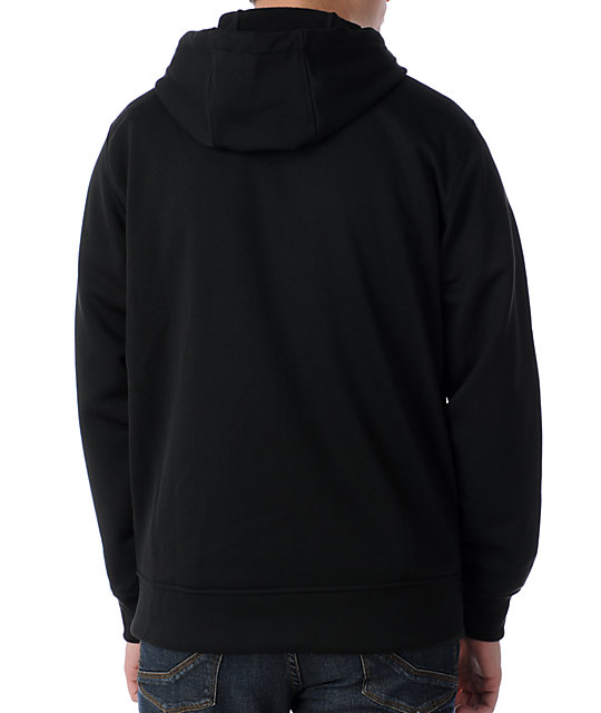 Burton Logo Fill Hooded Tech Fleece Jacket