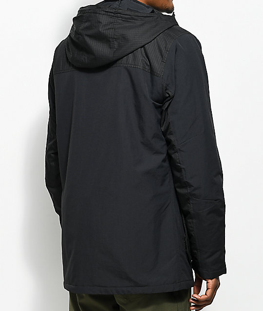 Burton Match Black Insulated Jacket