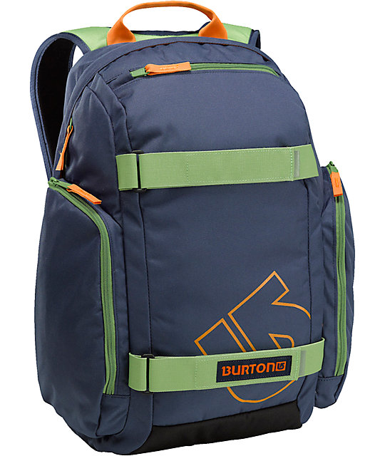 Burton Metalhead Navy Skate Backpack