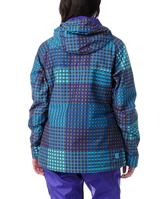 Burton Method Cheeky Plaid 10K Snowboard Jacket
