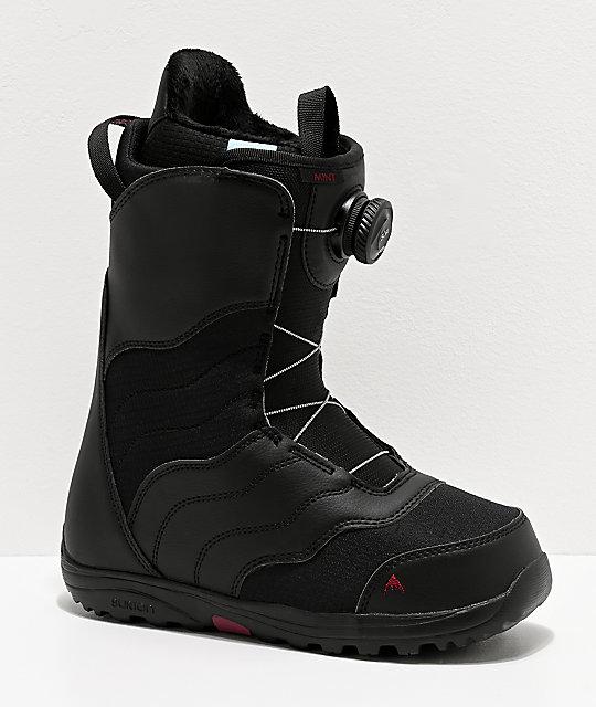 Burton Boa botas de snowboard en negro y menta para mujeres