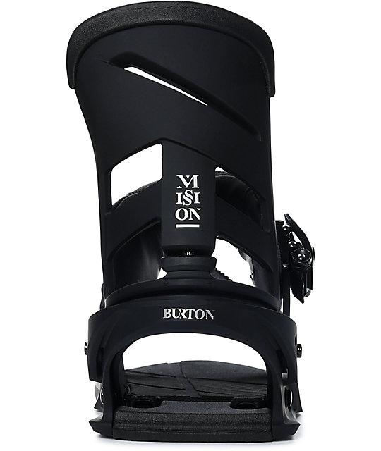 Burton Mission Black Snowboard Bindings